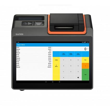 e-kasa elio POS T1 mini + elio Kasa aplikácia
