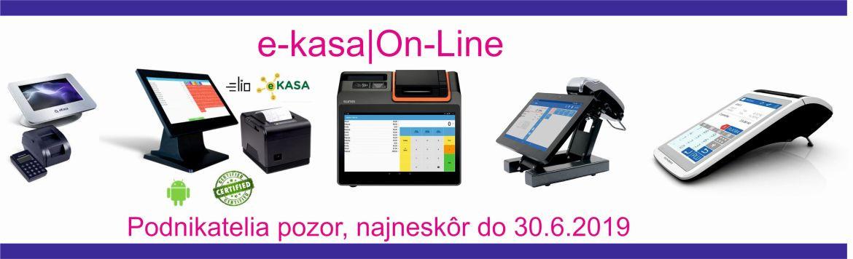 e-kasa informácie, ako registrovať